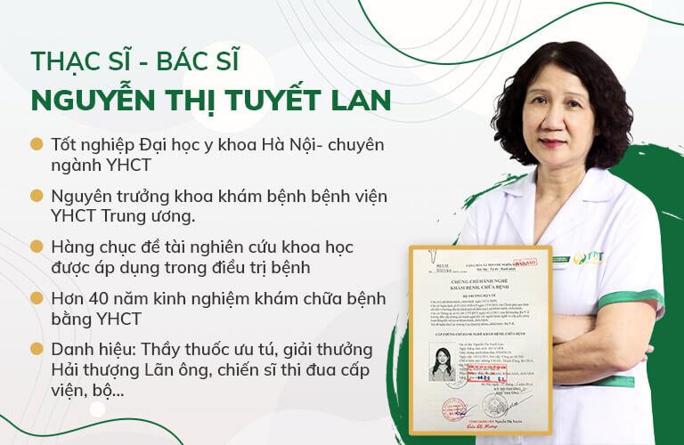 THS BS Tuyết Lan - GĐ Chuyên môn Thuốc dân tộc
