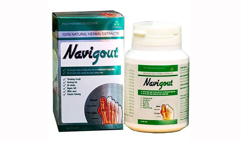 Thực phẩm chức năng Navigout hỗ trợ cải thiện và phòng ngừa bệnh gút
