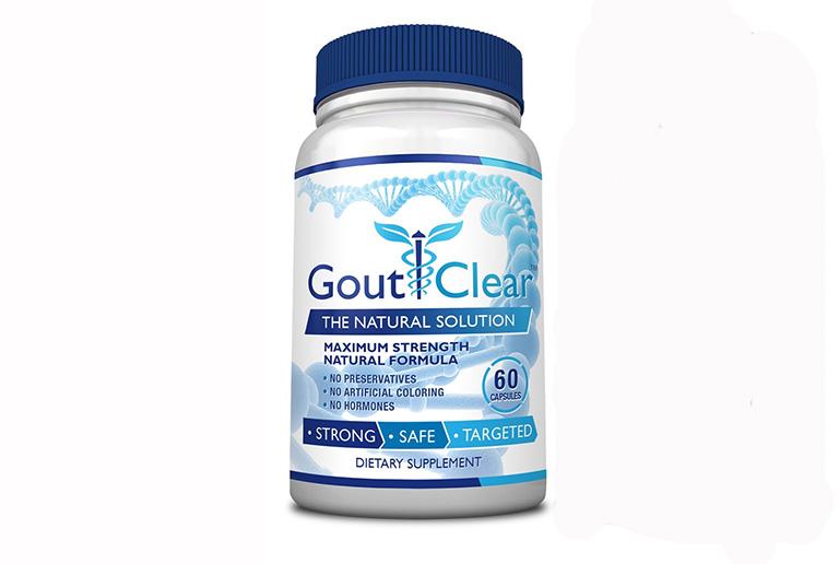 Thực phẩm chức năng hỗ trợ bệnh gút Gout Clear của Mỹ