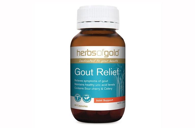 Herb Of Gold Gout Relief - Thực phẩm chức năng chữa gút của Úc