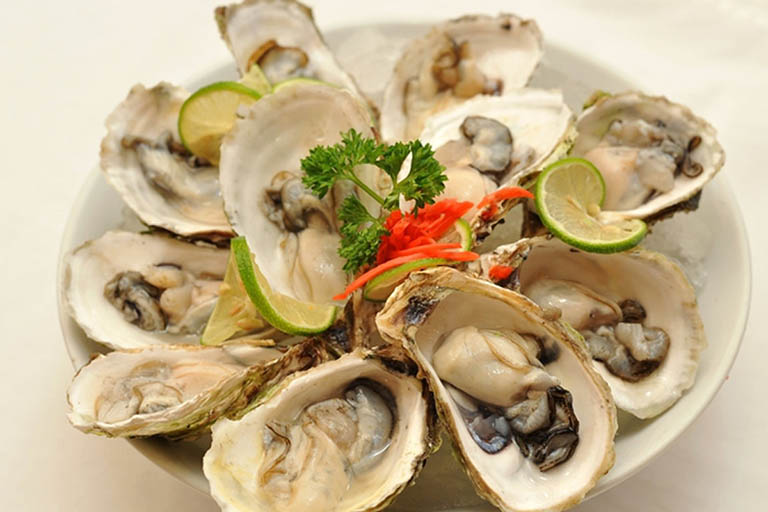 Thực phẩm kích thích sản sinh hormone testosterone - Hàu