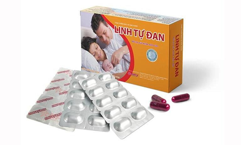 Linh Tự Đan - thuốc tăng số lượng tinh trùng