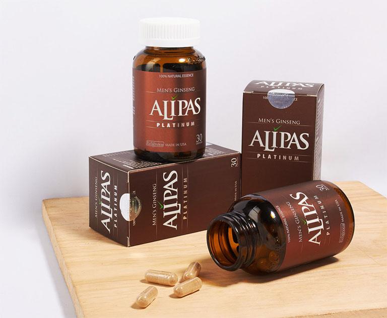 Sâm Alipas Platinum - thuốc tăng số lượng tinh trùng