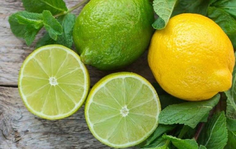 Chanh tươi và những loại thực phẩm có chứa chanh