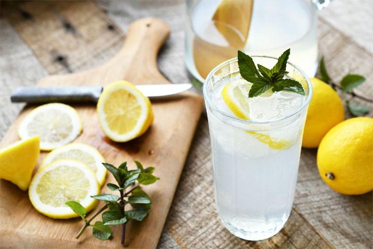 công dụng của nước cam, nước chanh