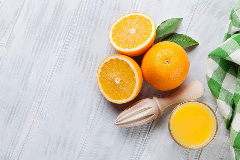 đau dạ dày uống nước cam, chanh được không?