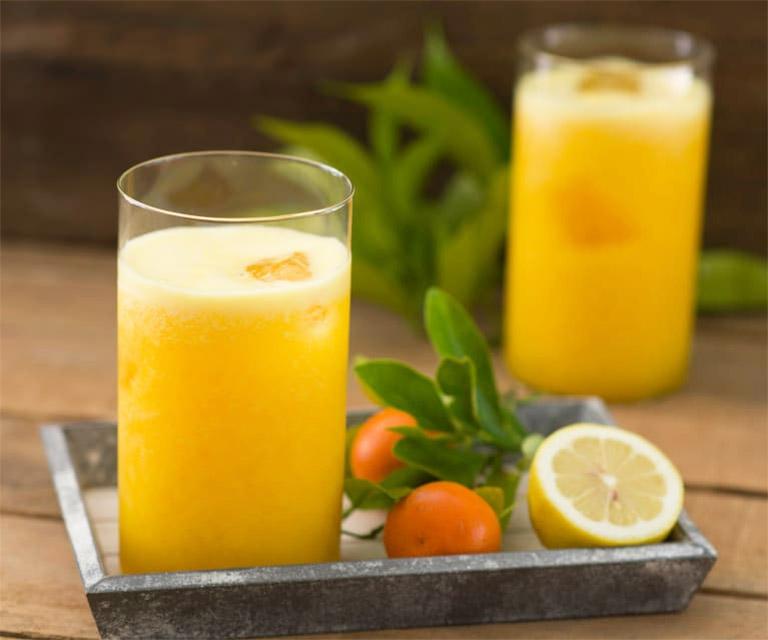 đau dạ dày uống nước cam, chanh được không