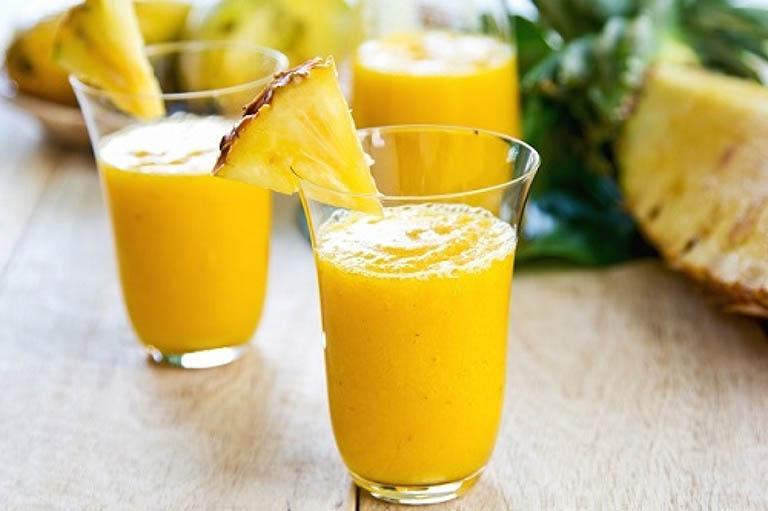 Uống sữa chua dứa mỗi ngày giúp giảm đau họng, cải thiện sức khỏe tổng thể