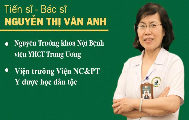 Bác sĩ Vân Anh chuyên gia Cầu nối sức khỏe