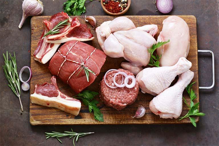 bị bệnh gút ăn được thịt gì?
