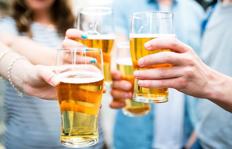 Rượu bia và những loại thực phẩm, thức uống chứa cồn