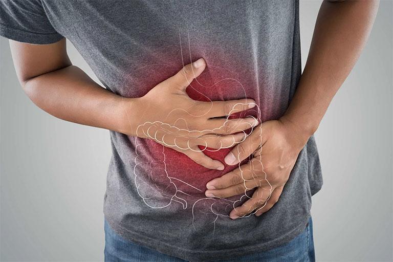 đau đại tràng là nằm ở vị trí nào?