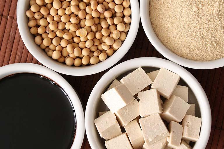 Đậu nành và những chế phẩm từ đậu nành