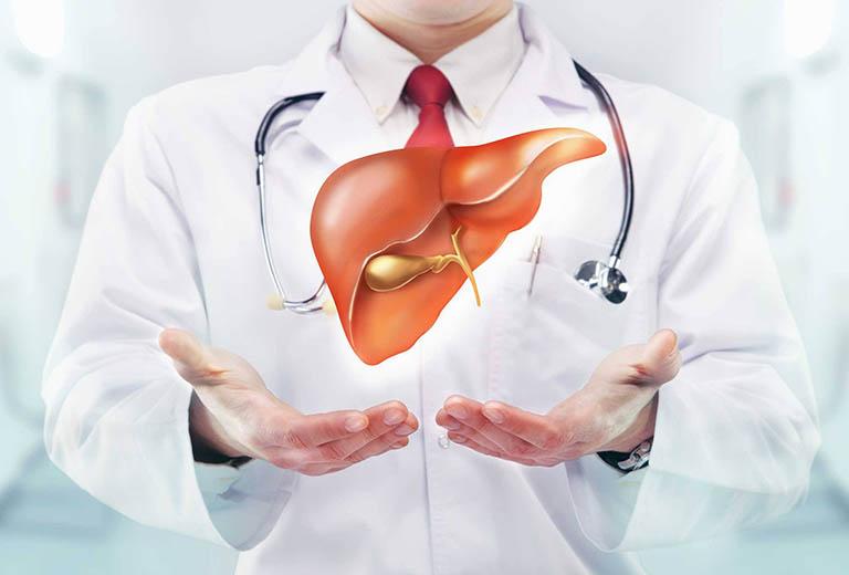 Viêm Gan A thể hiện cho những tổn thương tại gan do virus