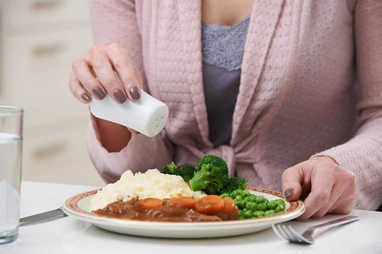 Thực phẩm mặn, nhiều muối