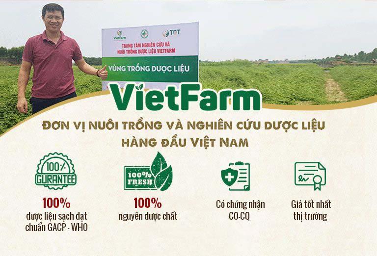 Vietfarm đạt chuẩn GACP