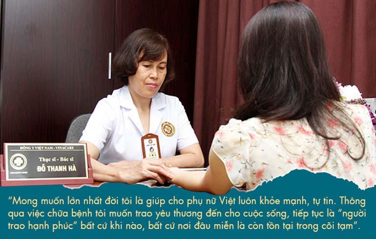 Dù tuổi ngoài 60 nhưng bác sĩ Hà vẫn đau đáu nỗi lo lắng của chị em