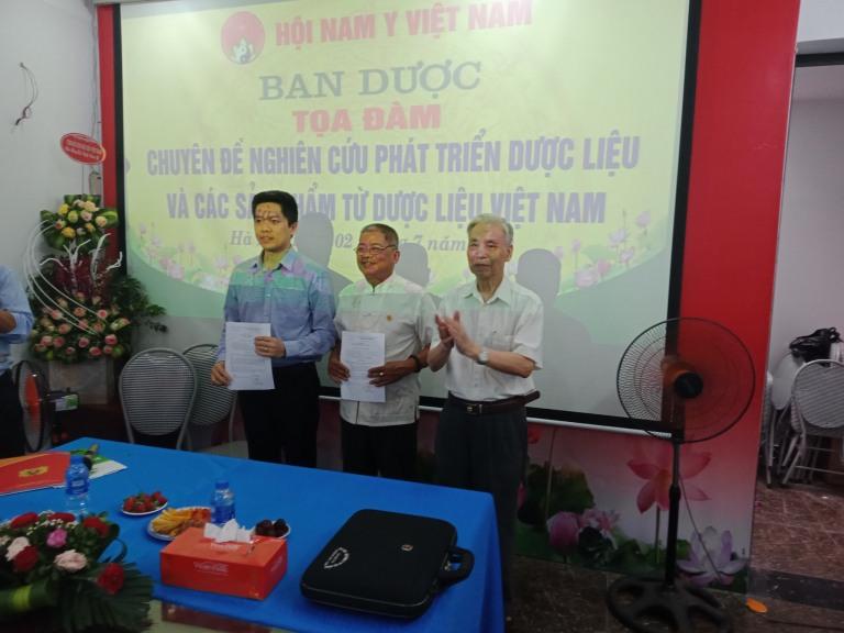 toạ đàm dược liệu Hội nam y Việt Nam