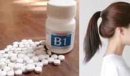Tác dụng trị rụng tóc của vitamin B1