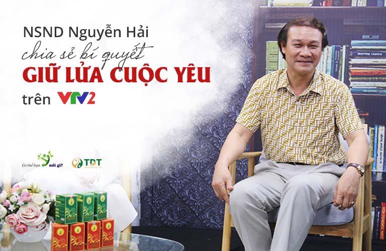 Nghệ sĩ Nguyễn Hải tham gia chương trình Cơ thể bạn nói gì VTV2