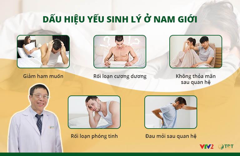 Những dấu hiệu suy giảm sinh lý ở nam giới
