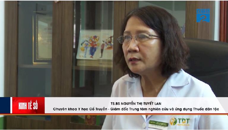 Thạc sĩ, bác sĩ Nguyễn Thị Tuyết Lan trong chương trình Kinh tế số - Góc nhìn người tiêu dùng VTC2