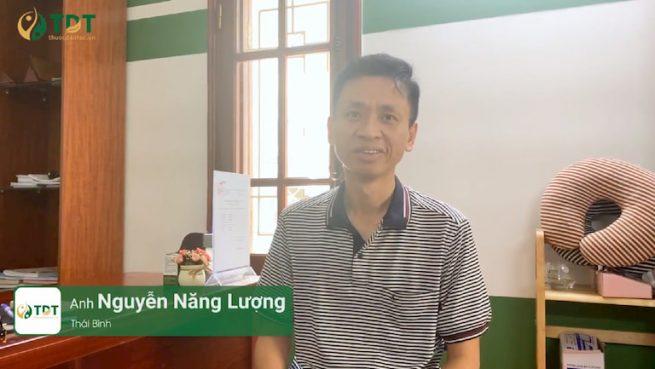 Anh Nguyễn Năng Lượng - Thái Bình - bệnh nhân điều trị trào ngược dạ dày tại Thuốc dân tộc
