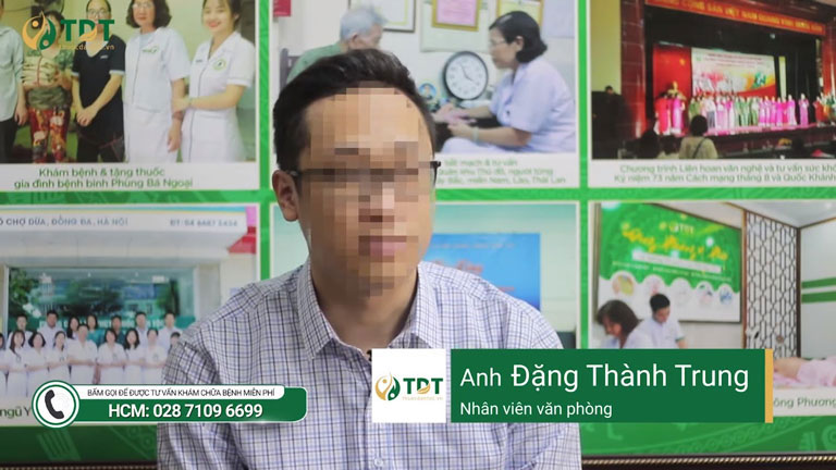 Anh Đặng Thành Trung với nỗi khốn khổ bệnh trĩ trong 3 năm