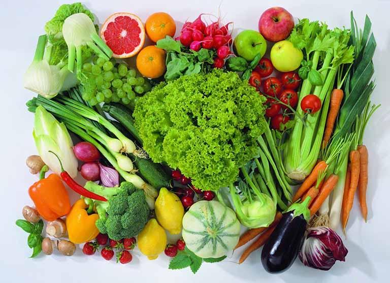 Tăng cường bổ sung vào chế độ ăn uống những loại thực phẩm giàu chất xơ
