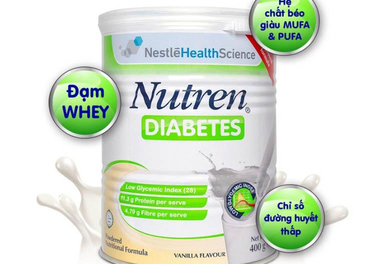 Các loại sữa tốt cho người bệnh tiểu đường tốt nhất hiện nay