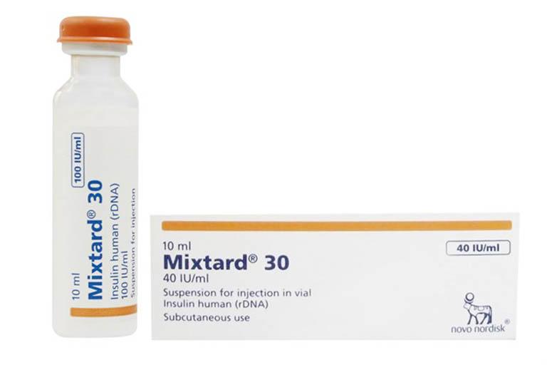 Thuốc trị đái tháo đường Mixtard 30