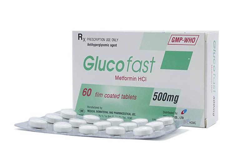 Thuốc điều trị bệnh đái tháo đường Glucofast