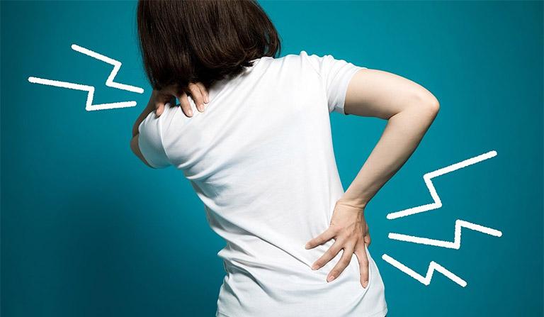 Tình trạng đau lưng thường gặp ở vị trí nào?