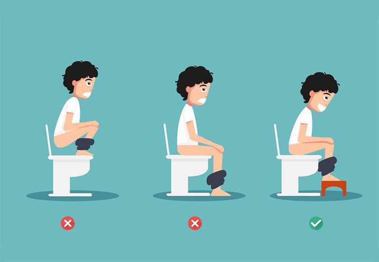 Tư thế ngồi vệ sinh đúng chuẩn của chuyên gia