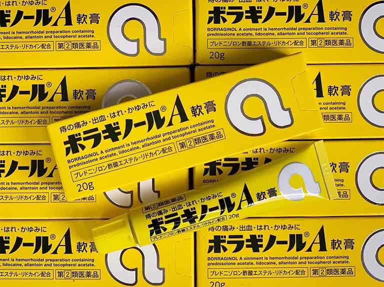Thuốc bôi trĩ chữ A của Nhật dùng có tốt không? Giá bán bao nhiêu?
