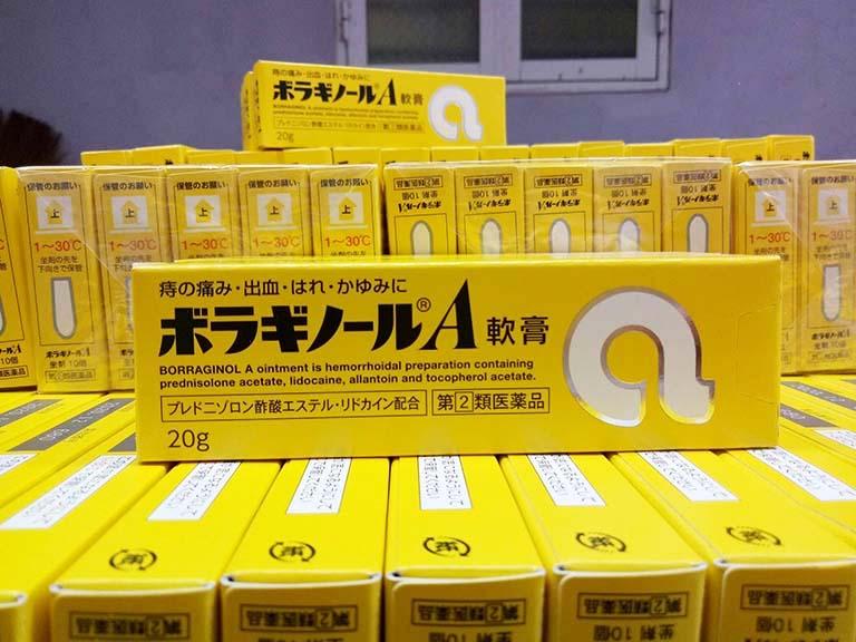 Review thuốc bôi trĩ chữ A của Nhật Bản