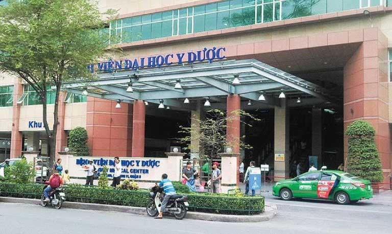 Bệnh viện Đại học Y dược Thành phố Hồ Chí Minh có đội ngũ y bác sĩ khám chữa bệnh trĩ cho bà bầu giỏi