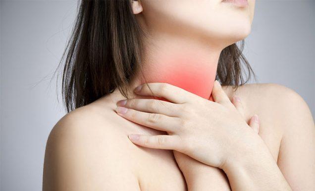 Quan hệ xong đau họng là bị gì?