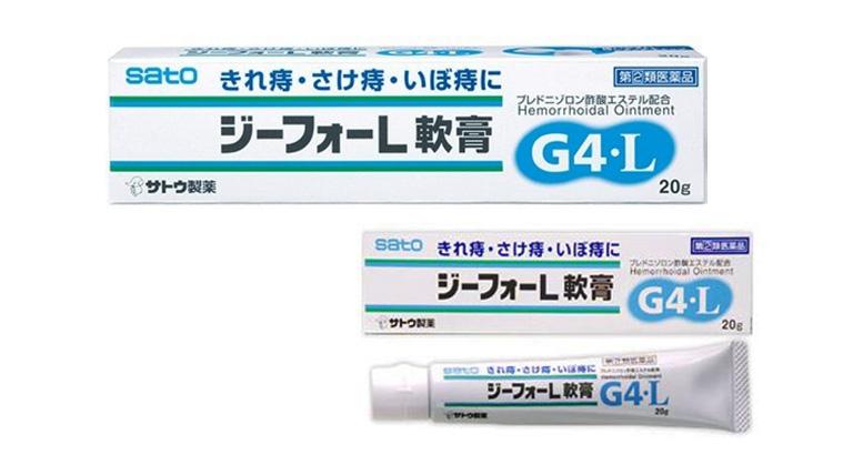 Kem bôi trĩ G4 L của Nhật