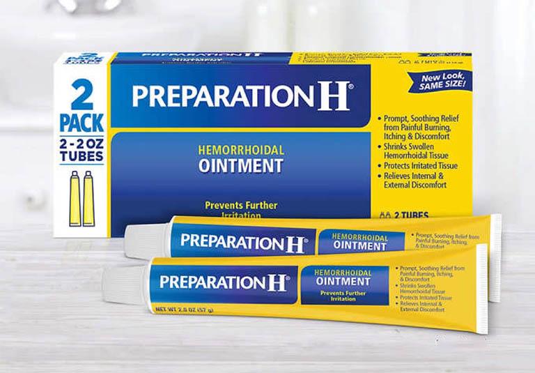 Preparation H là một trong những loại thuốc bôi trĩ có tiếng nhất của Mỹ