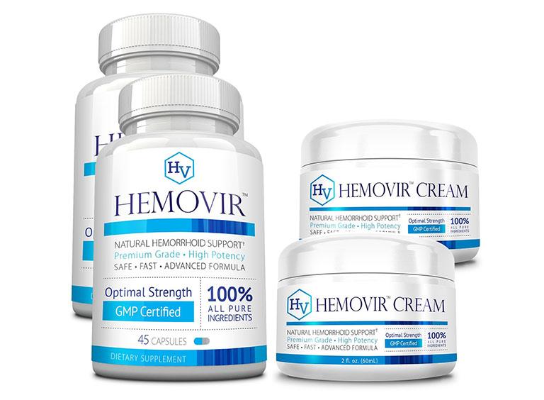 Viên uống Hemovir được bào chế từ 13 thành phần thiên nhiên lành tính với tác dụng hỗ trợ điều trị bệnh trĩ