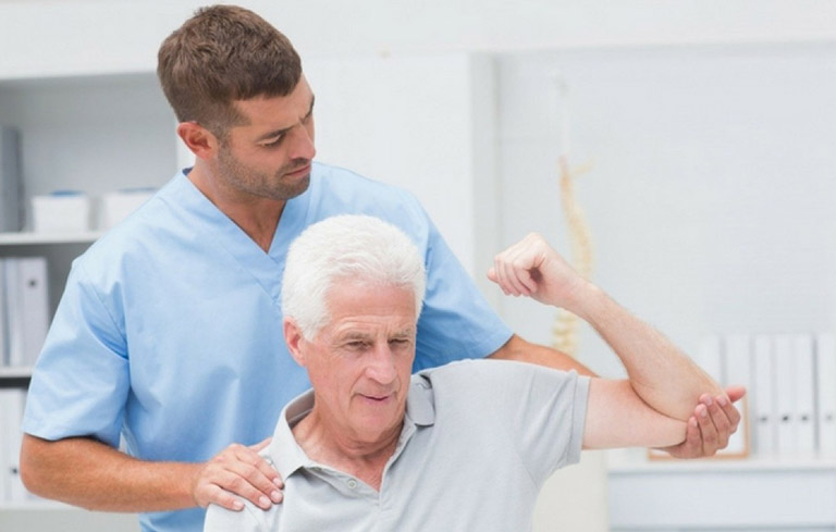Bài tập vật lý trị liệu phục hồi viêm quanh khớp vai