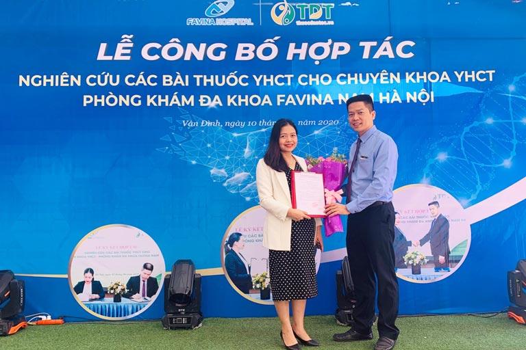 lễ hợp tác nghiên cứu bài thuốc YHCT