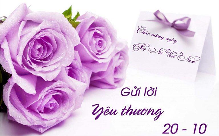 Nhân ngày phụ nữ Việt Nam 20/10 hãy gửi tặng lời yêu thương đến người phụ nữ của bạn