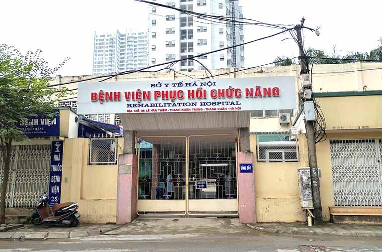 Bệnh viện Phục hồi chức năng là địa chủ khám và tập vật lý trị liệu ở Hà Nội đáng tin cậy mà người bệnh không nên bỏ qua