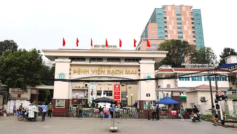 Bệnh viện Bạch Mai có chuyên khoa điều trị bệnh bằng phương pháp vật lý trị liệu và phục hồi chức năng