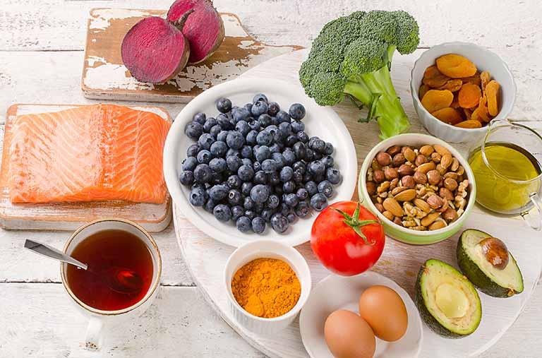 Áp dụng chế độ ăn uống lành mạnh
