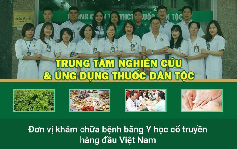 Trung tâm Thuốc dân tộc là đơn vị khám chữa YHCT hàng đầu hiện nay