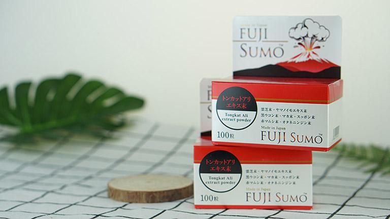 Fuji Sumo là thực phẩm chức năng, không phải là thuốc và không có tác dụng thay thế thuốc chữa bệnh