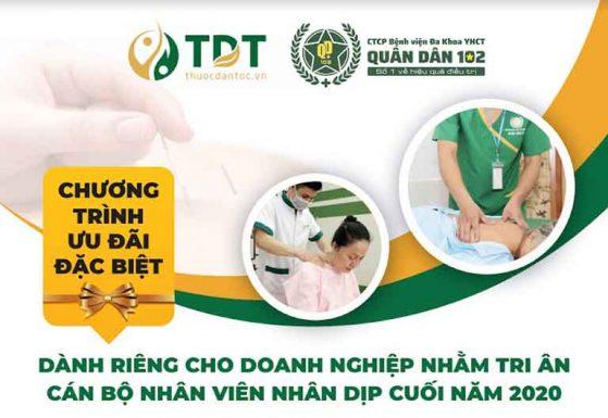 Gói khám sức khỏe tổng quát dành cho CBNV doanh nghiệp tại Trung tâm Thuốc dân tộc và Bệnh viện Quân dân 102